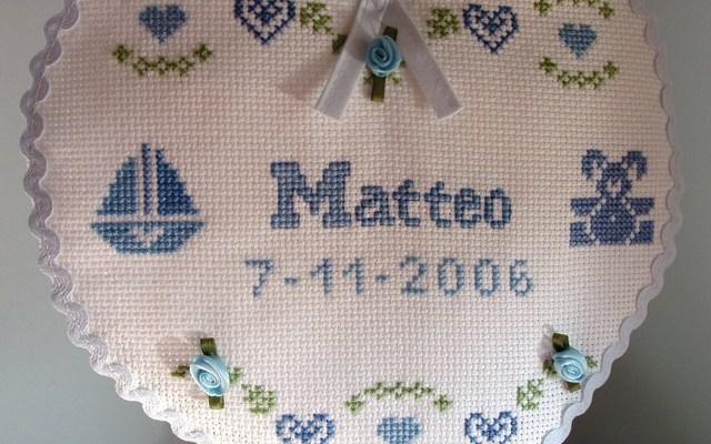 E' nato Matteo P.!