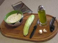Ingredienti per preparare lo tzatziki