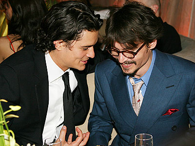 Chi scegli tra Orlando Bloom e Johnny Depp?