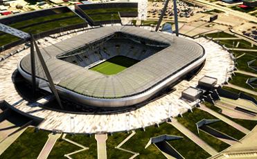 Il nuovo stadio della Juventus