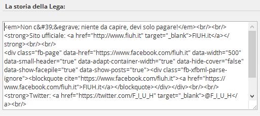 Editor FantaGazzetta con javascript disattivato