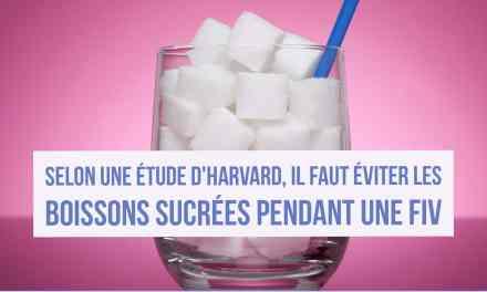 Selon une étude d'Harvard, il faut éviter les boissons sucrées pendant une FIV