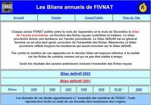 Les Bilans annuels de FIVNAT