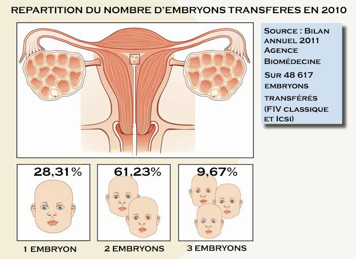 fiv 2 embryons transférés