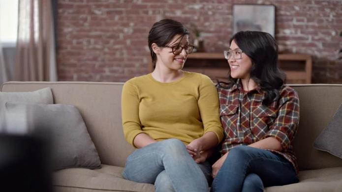 Couple lesbienne et bebe-9963