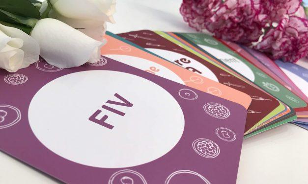 Cartes étapes PMA FIV