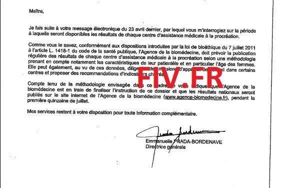 Exclusivité FIV.FR Les résultats PMA centre par centre publiés en Juillet