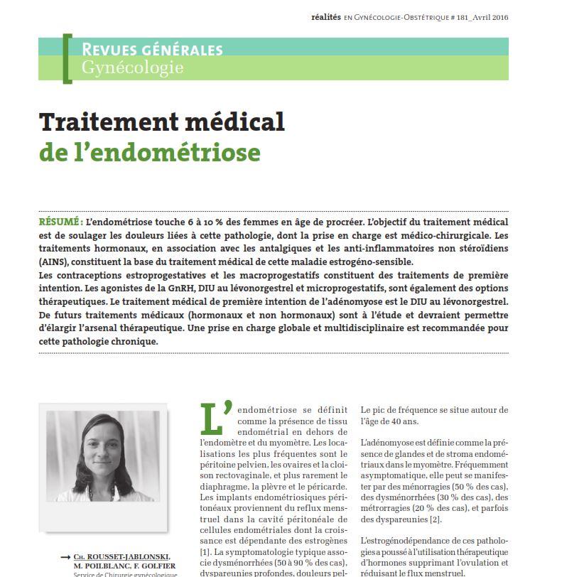 traitement-medical-endometriose
