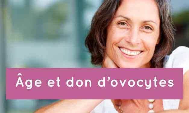 Age et don d'ovocytes