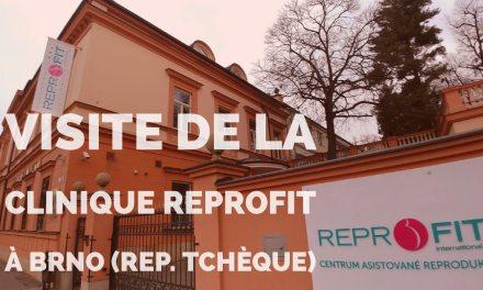 Visite de la clinique Reprofit à Brno (République Tchèque)