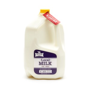 Fat Free Milk - Skim Milk - Five Acre Farms