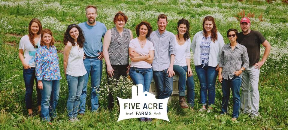 five acre farms team