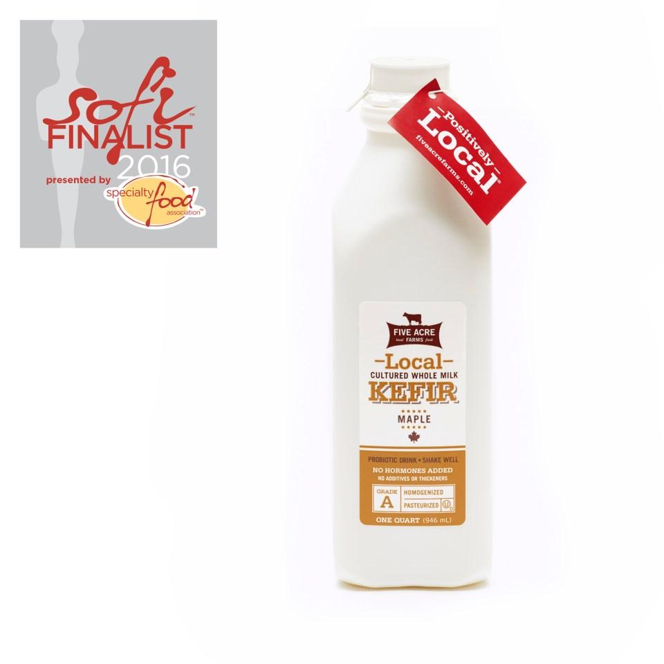 Local Maple Whole Milk Kefir Quart
