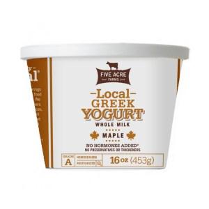 Maple Greek Yogurt