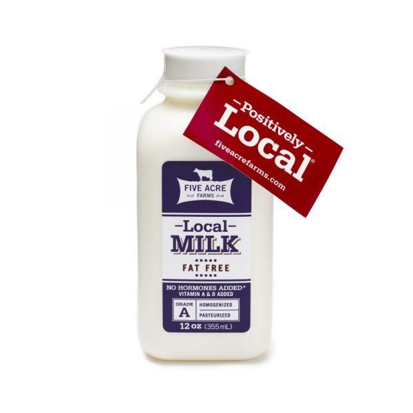 Fat Free Milk bottle