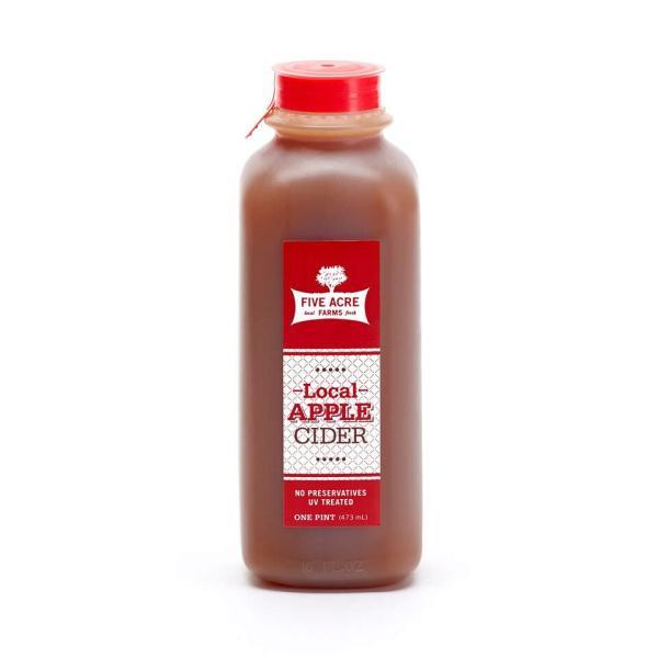 Local Apple Cider Pint - Five Acre Farms