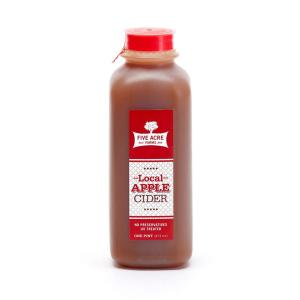 Local Apple Cider Pint - Five Acre Farms