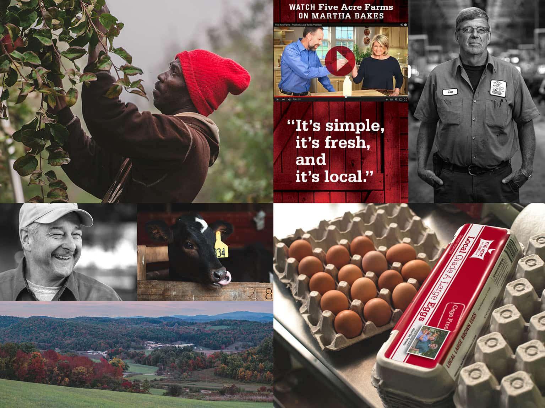 Five Acre Farms Website