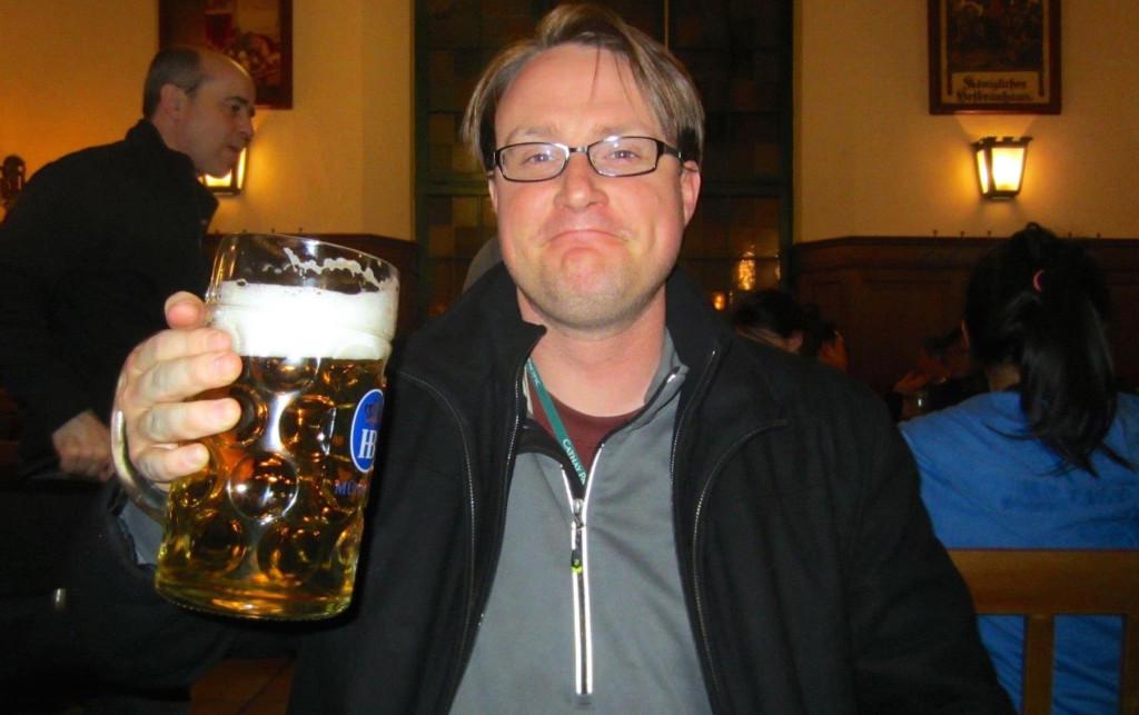 Derek at Hofbräuhaus München
