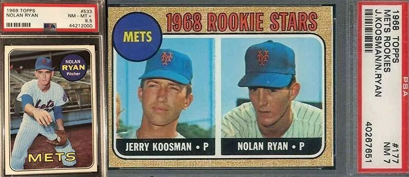 Nolan Ryan Rookie Cards