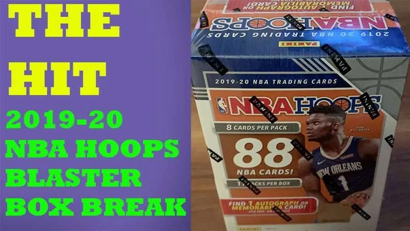 2019-20 NBA Hoops Blaster Box Break Giveaway