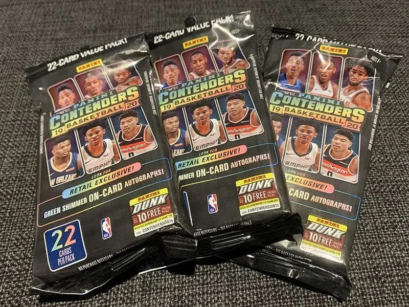 2019-20 Panini Contenders Basketball Value Packs