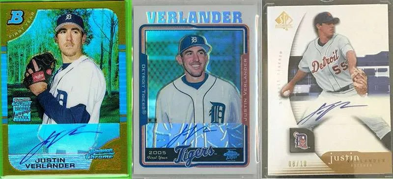 Justin_Verlander_rookie_cards