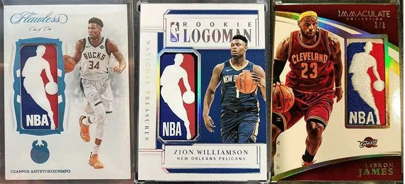 NBA Logoman Basketball Cards