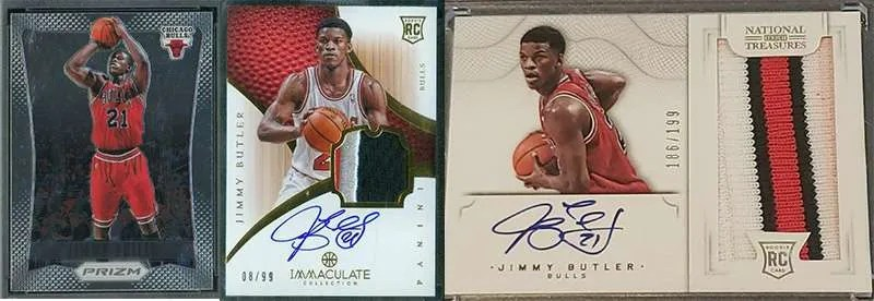 Jimmy Butler Rookie Cards