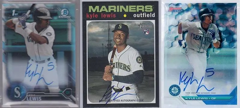Kyle Lewis Rookie Cards