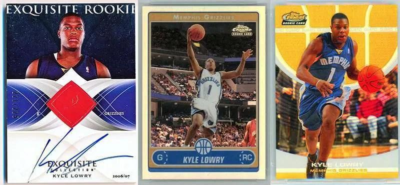 Kyle Lowry Rookie Cards