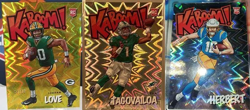 2020 Panini Absolute Kaboom hits
