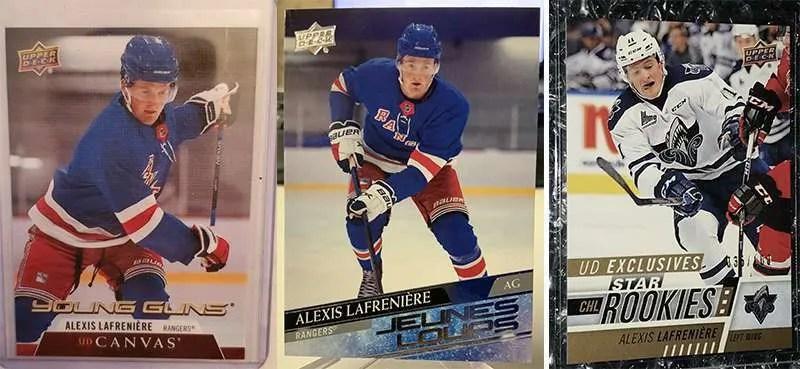Alexis Lafreniere Rookie Cards