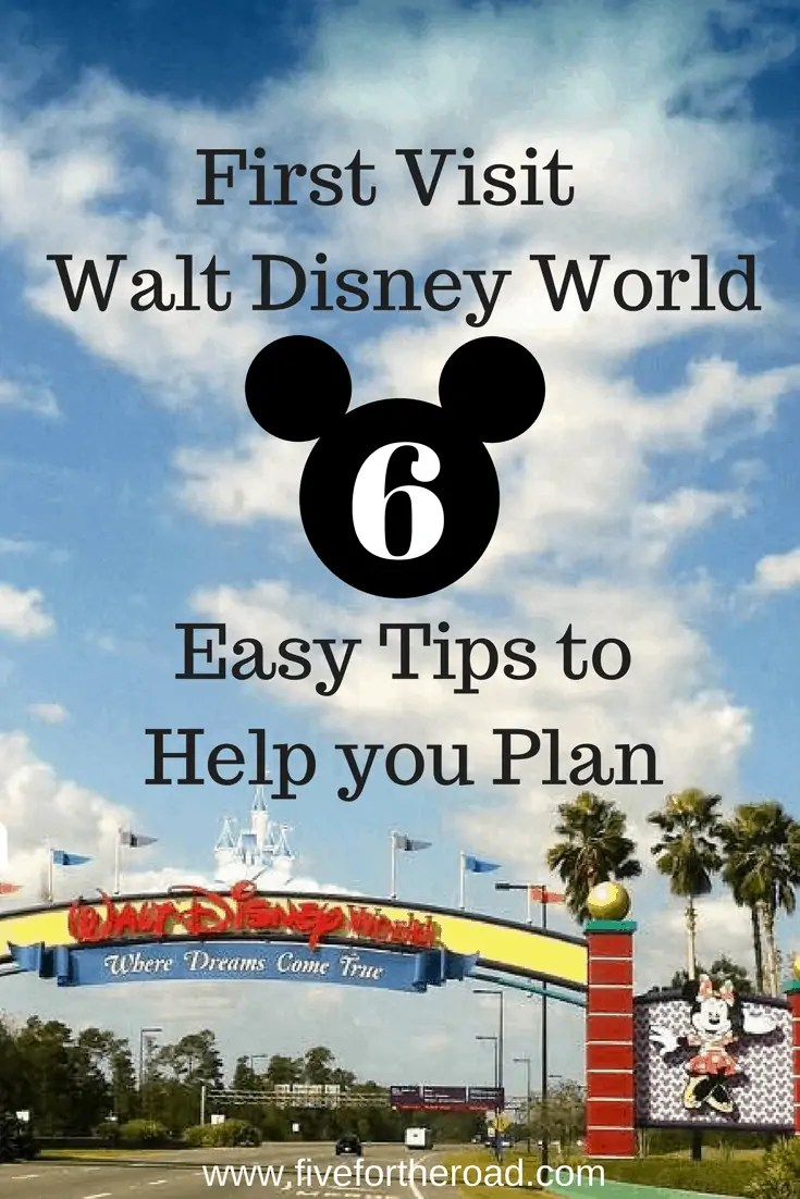 6 tips to plan walt disney world