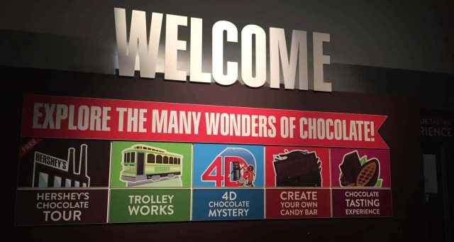 Road Trip: Rochester to Myrtle Beach, Hershey Chocolate World