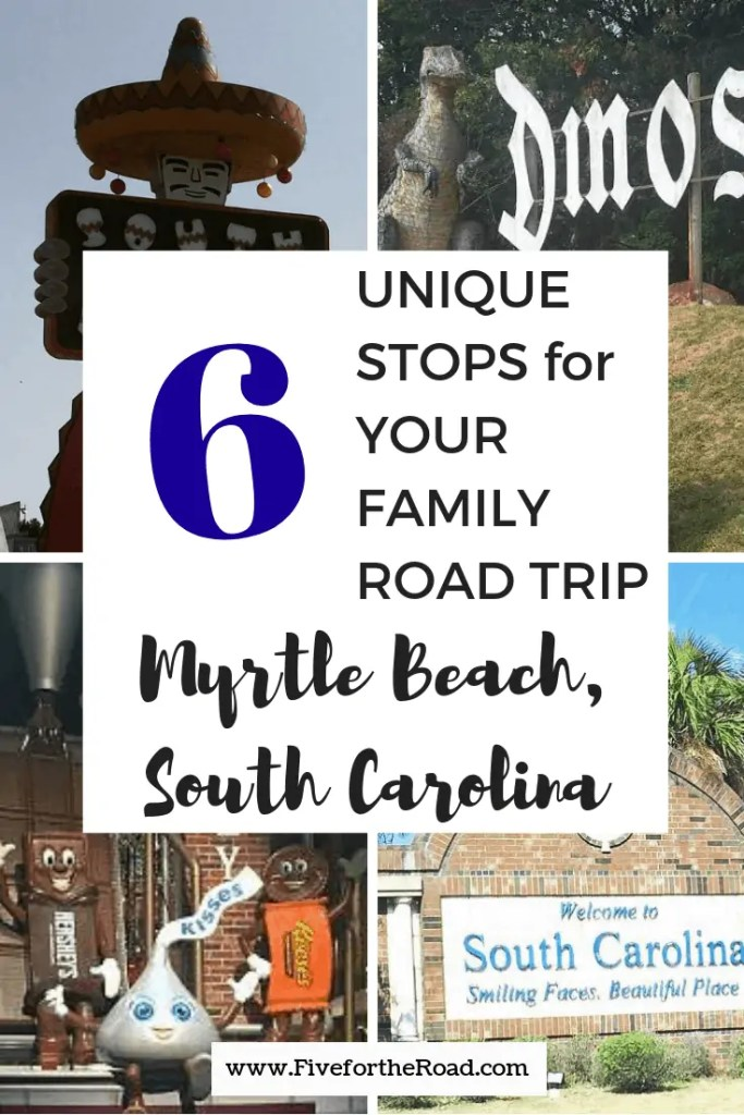 road trip to myrtle beach with kids