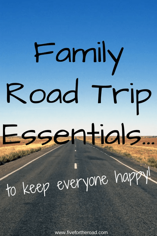Essentials for a Family Road Trip