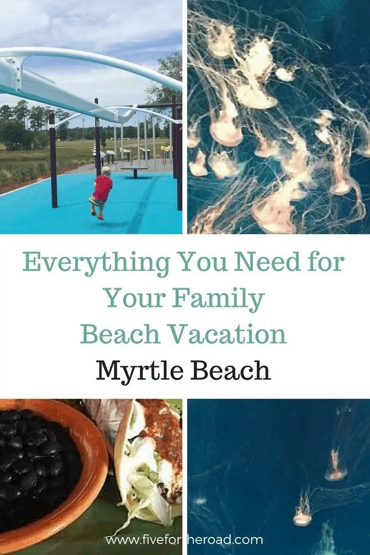 family fun destination guide myrtle beach pin