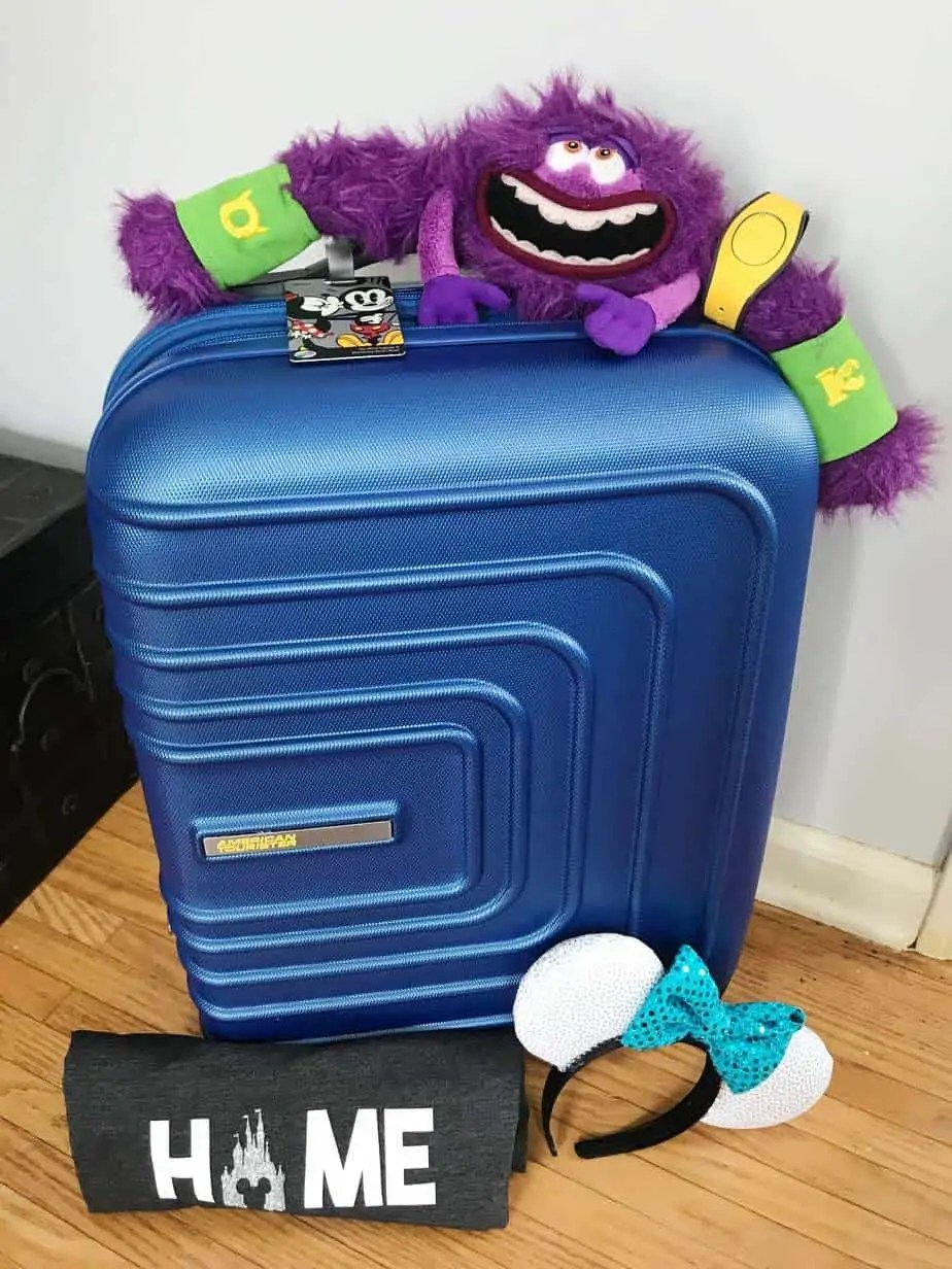 luggage for packing for disney world