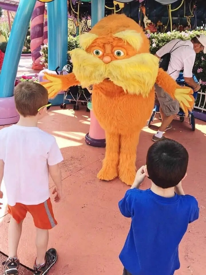 lorax at seuss landing