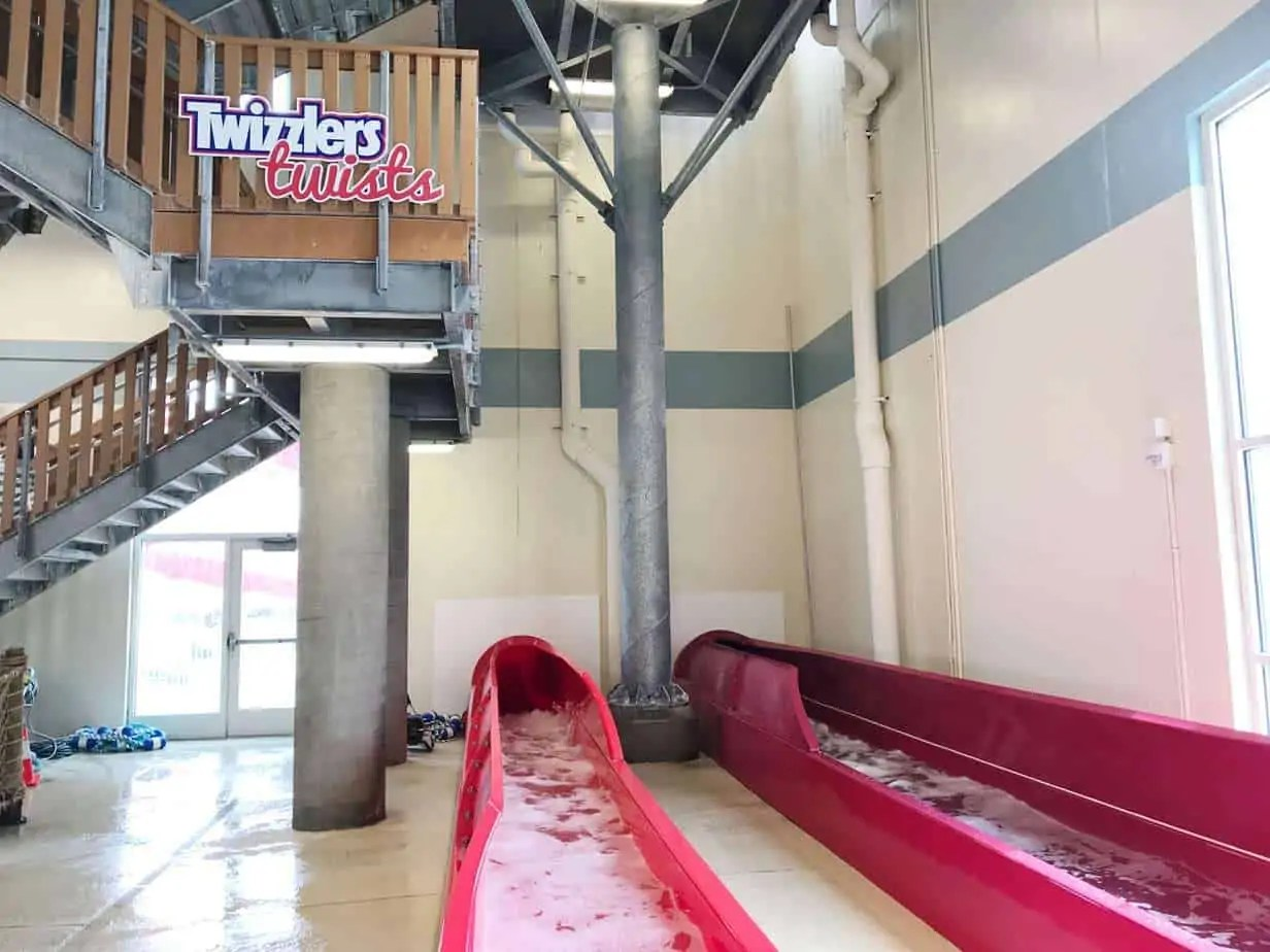 water slide at hershey lodge