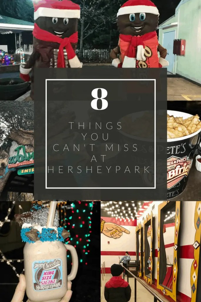 hersheypark attractions for families