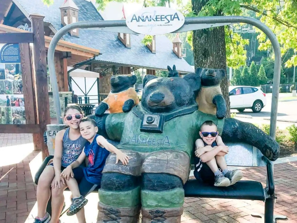 Anakeesta in Gatlinburg Tennessee, a new family friendly attraction.