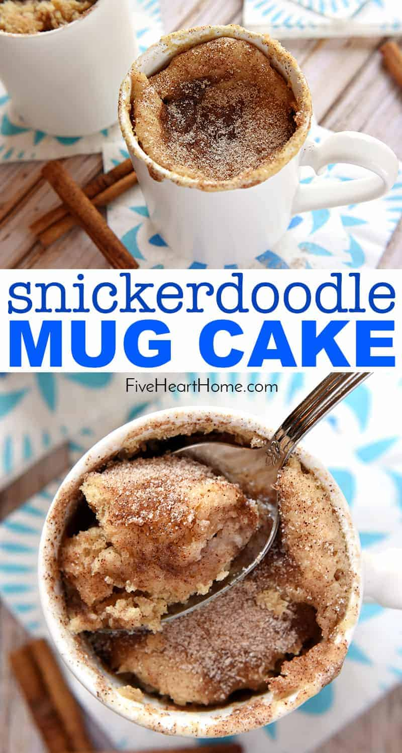 snickerdoodle mug cake the best mug