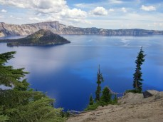 Now that is a BLUE lake! Crater Lake, Oregon