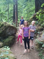 Hiking to Watson Falls