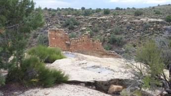 Anasazi ruins at Hovenweep National Monument