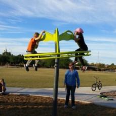Fun at a park in Mesa