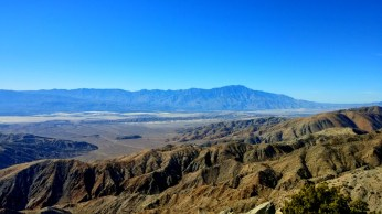 Looking toward Palm Springs