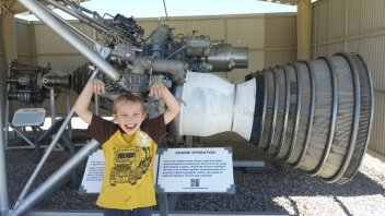 Titan II rocket engine